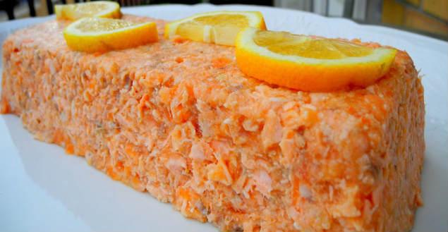 Terrine de saumon recette entrée -Feuille de choux