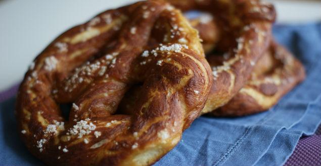 Recette bretzel d'Alsace - Feuille de choux
