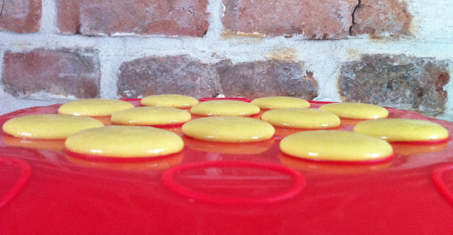 Coques de macarons -feuile-de-choux