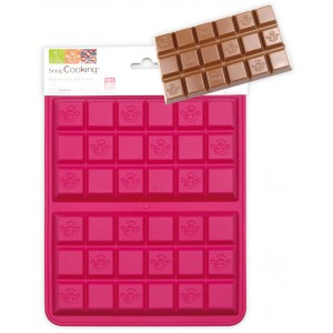 moules en silicone tablettes choco_fdc