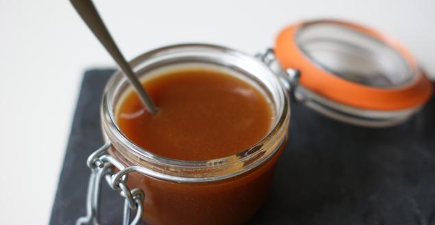 Crème caramel beurre salé - Feuille de choux