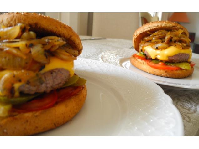 Burger maison, le vrai - Feuille de choux