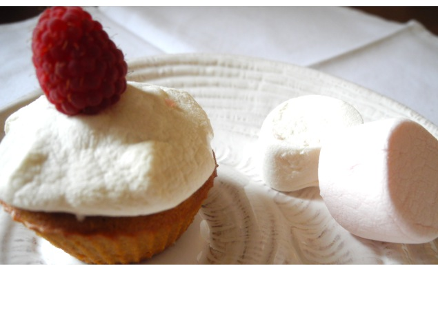 Cupcakes café & Chamallows* fondants 1