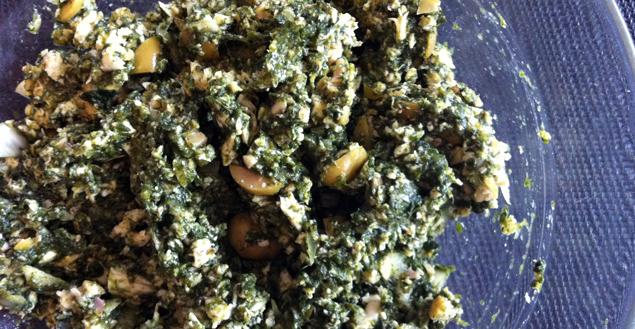 preparation-epinard-poulet-parmesan-olive-feuille-de-choux