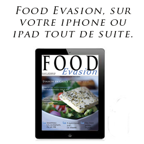 Food Evasion, magazine de cuisine sur Ipone et Ipad 