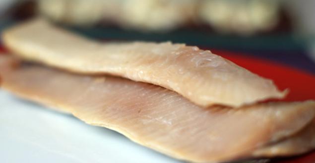 Carpaccio de betterave au hareng et pommes - Feuille de choux