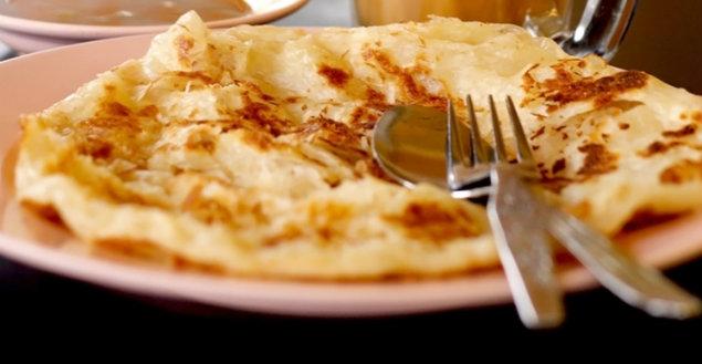 Roti Canai, la crêpe malaise - Feuille de choux