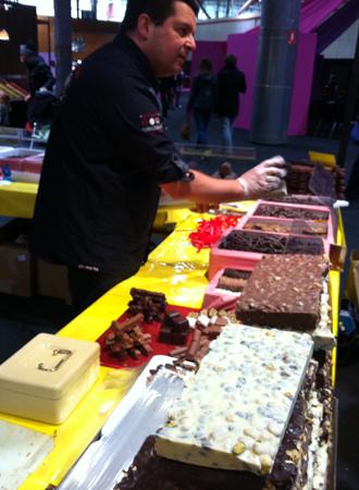 Chocolat Beussent-Lachelle, salon du chocolat de Lille - Feuille de choux