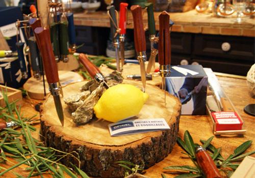 Couteaux à huitres Opinel - Feuille de choux
