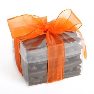 Orangettes-chocolat - Feuille de choux