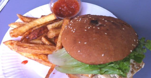 Burger vegan à strasbourg pied de mammouth-Feuille de choux