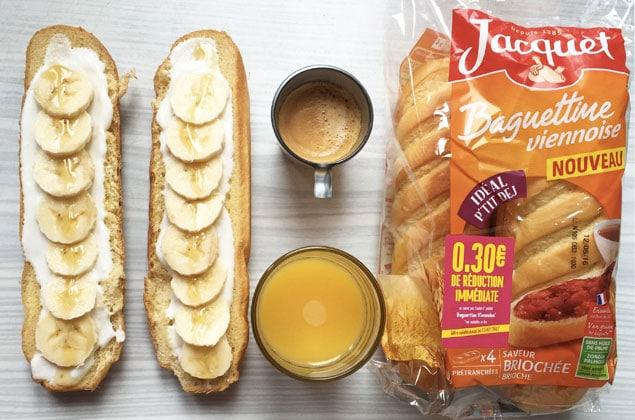 Baguette petit-dej de compet Jacquet