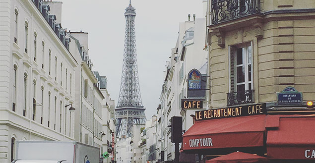 Paris, chronique d'une journée normale