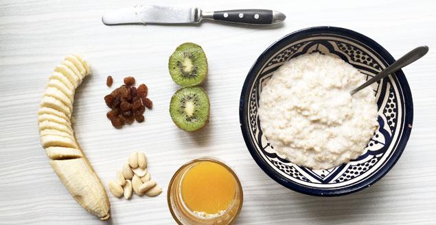 Recette du porridge spécial diet