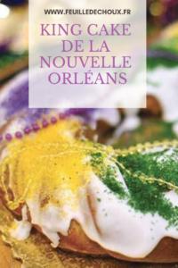 King cake de la Nouvelle Orléans 1