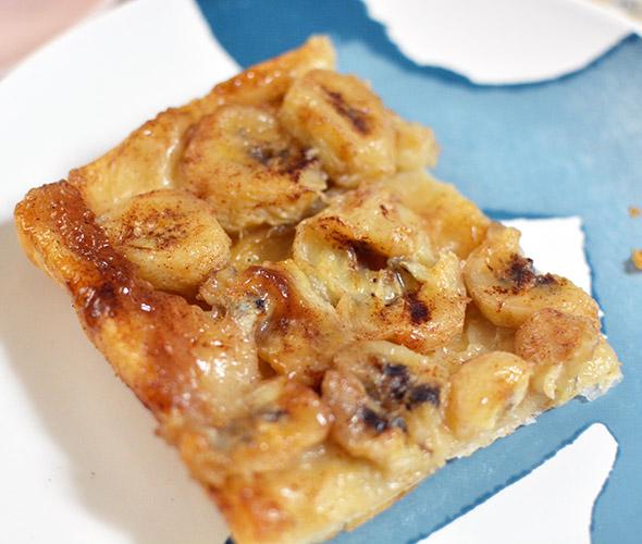 Part tatin banane - Feuile de choux