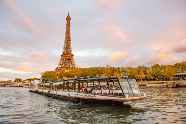 Un moment d'émerveillement au Restaurant péniche Marina de Paris 3
