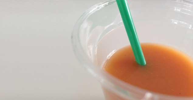 Smoothie carotte orange- Feuille de choux