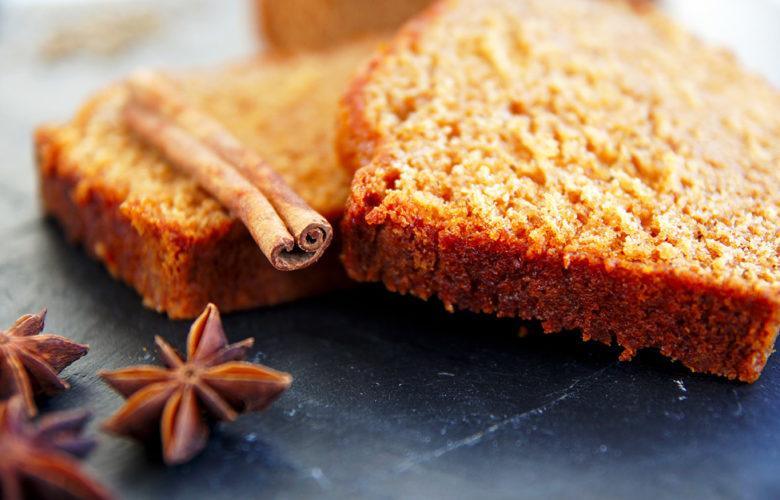 pain d'épices moelleux - feuille de choux