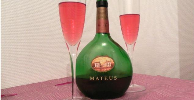 Vin mature rosé