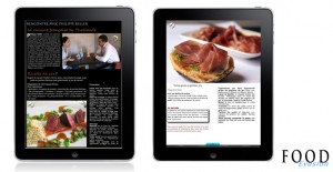 Application-food-evasion-philippe-keller-tartine-pesto-jambon-ipad-android