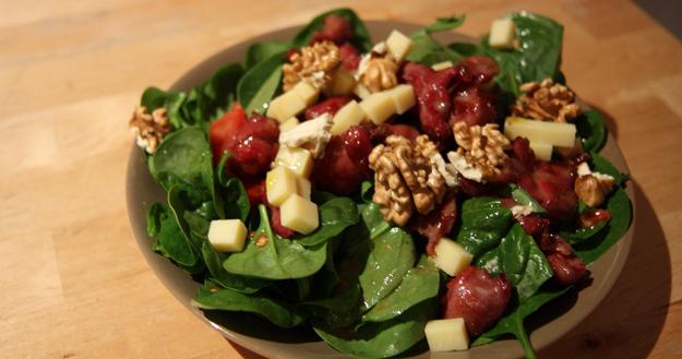 Salade vitaminée du Périgord - Feuille de choux