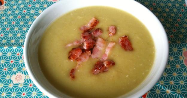 Recette de soupe de pois cassé - Feuille de choux