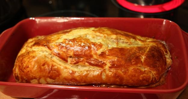 Filet mignon de porc en croute - Feuille de choux