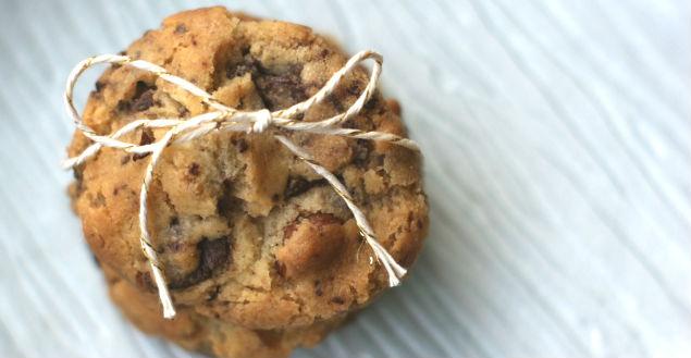 cookies sans oeuf super délicieux au chocolat ! Feuille de choux