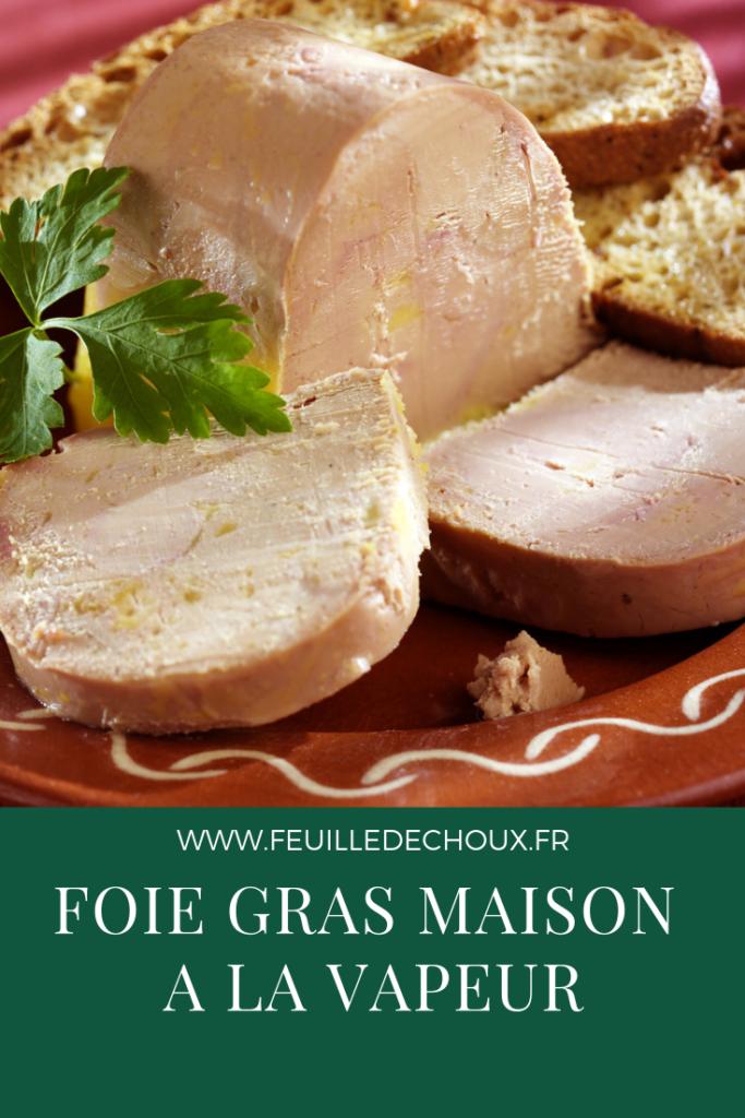 Recette facile de foie gras maison 2