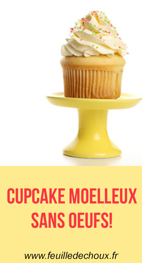 cupcake sans oeuf hyper moelleux