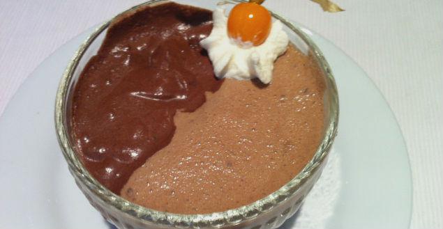 La mousse aux 2 chocolats de Raphaël - Feuille de choux