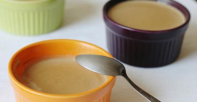 Crèmes au café vanille et chocolat