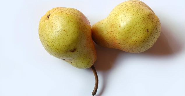 Hum les bonnes poires - Feuille de choux