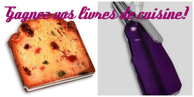 Gagnez des livres de cuisine trop choux! -Feuille de choux