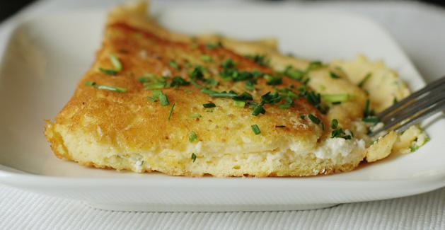 Omelette soufflée au fromage, la recette Feuille de choux