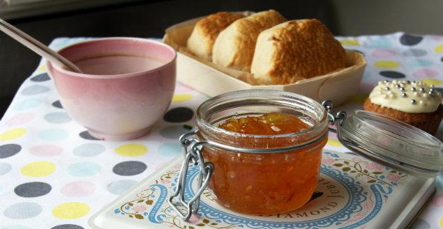 Marmelade d'orange amère - Feuille de choux