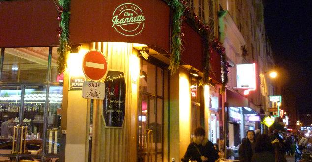 Paris gourmand, chez Jeannette - Feuille de choux