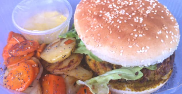 Burger vegan à strasbourg bistrot chocolat-Feuille de choux