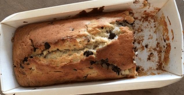 Cake chocolat banane- Feuille de choux