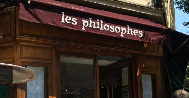 Restaurant les philosophes à Paris - Feuille de choux
