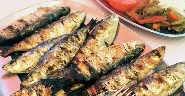 Carnet de voyages : les sardines grillées de Porto 1