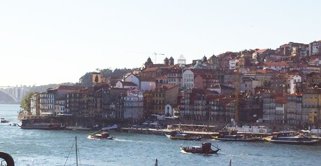 Vue de porto portugal - Feuille de choux