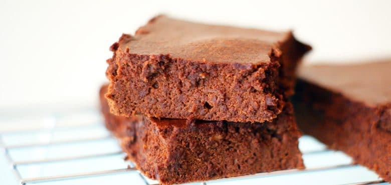Gâteau au chocolat sans sucre ni beurre - Feuille de choux