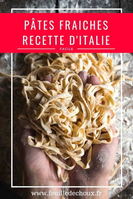 Pâtes fraiches: Recette de pasta comme en Italie (Journée internationale des pâtes) 2