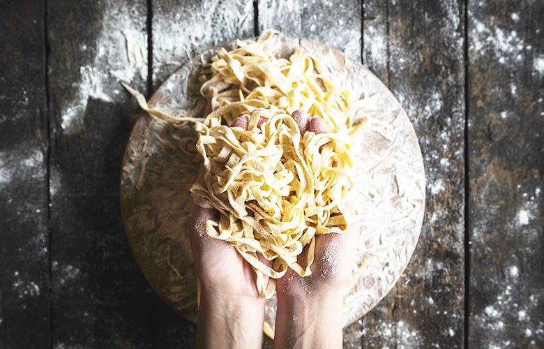 pâtes fraiches, recette de pâtes fraiches comme en italie - feuille de choux