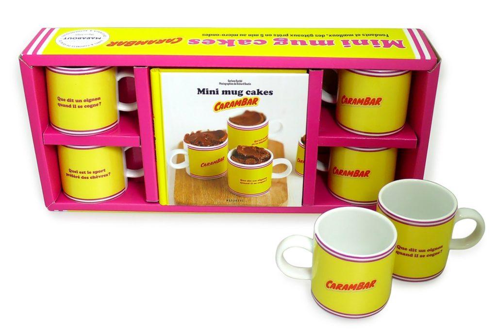 Coffret mug cake Carambar