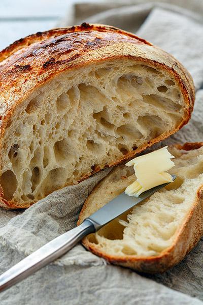 Faire son pain au levain maison, c'est facile et délicieux!