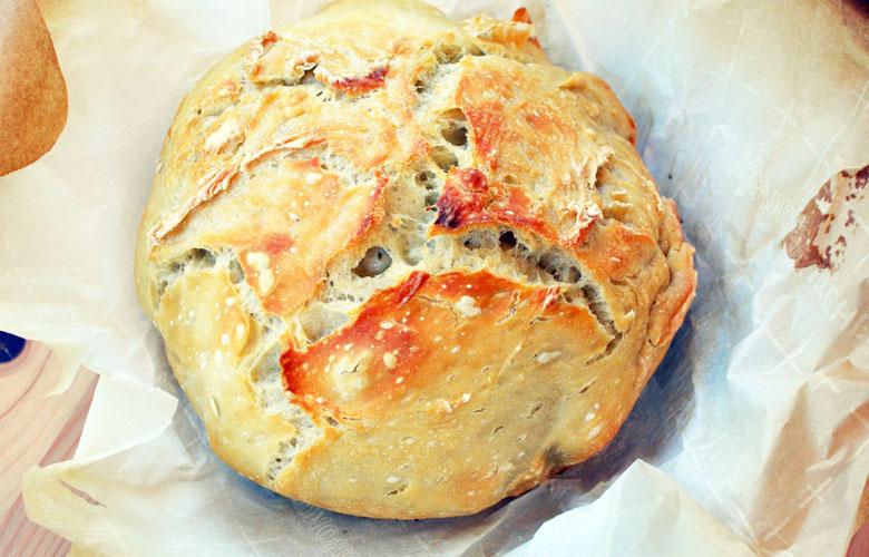 pain cocotte recette sans petrissage