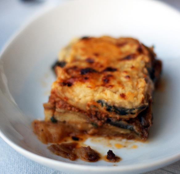 recette de moussaka grecque
